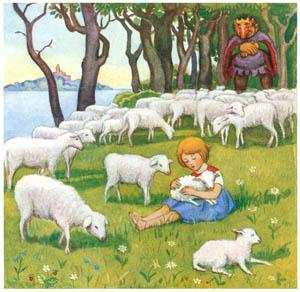 エルサ・ベスコフ – 挿絵6 (カイとカイサのぼうけんより)のサムネイル画像