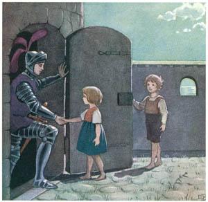 エルサ・ベスコフ – 挿絵8 (カイとカイサのぼうけんより)のサムネイル画像