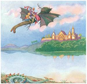 エルサ・ベスコフ – 挿絵9 (カイとカイサのぼうけんより)のサムネイル画像
