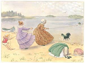 エルサ・ベスコフ – 挿絵4 (あおおじさんのあたらしいボートより)のサムネイル画像