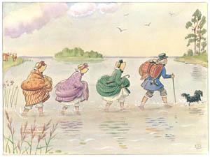 エルサ・ベスコフ – 挿絵11 (あおおじさんのあたらしいボートより)のサムネイル画像