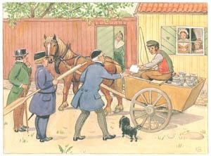 エルサ・ベスコフ – 挿絵13 (あおおじさんのあたらしいボートより)のサムネイル画像