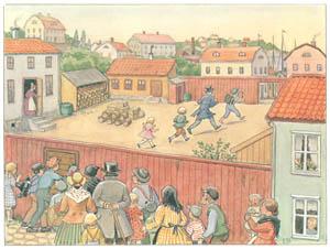 エルサ・ベスコフ – 挿絵15 (あおおじさんのあたらしいボートより)のサムネイル画像