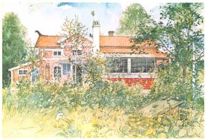 カール・ラーション – 田舎家 (Our Homeより)のサムネイル画像