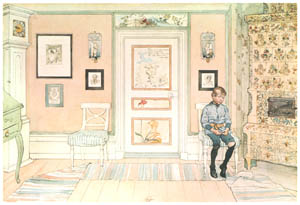 thumbnail Carl Larsson – In the Corner [from Our Home]