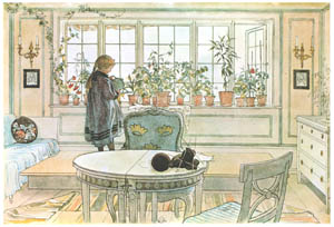 thumbnail Carl Larsson – Flowers on the Windowsill [from Our Home]