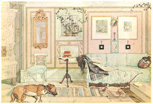 thumbnail Carl Larsson – Cosy Corner [from Our Home]