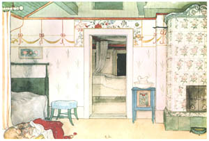thumbnail Carl Larsson – Brita's Forty Winks [from Our Home]