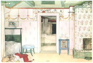 カール・ラーション – ブリタのお昼寝 (Our Homeより)のサムネイル画像