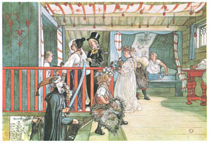 thumbnail Carl Larsson – A Day of Celebration [from Our Home]