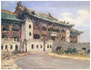 thumbnail Yoshida Hiroshi – Shanghai Municipal Government [from Fukuoka Art Museum]