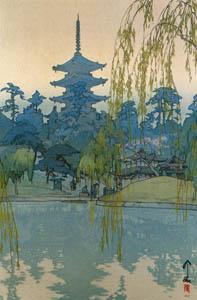 吉田博 – 猿澤池 (近代風景画の巨匠 吉田博展-清新と叙情より)のサムネイル画像