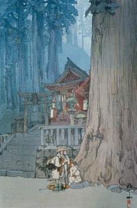 吉田博 – 日光霧之日 (近代風景画の巨匠 吉田博展-清新と叙情より)のサムネイル画像