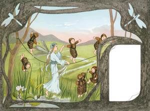 ジビュレ・フォン オルファース – さなぎの子供 只今ダンスのお稽古中 (ちょうちょのくにより)のサムネイル画像