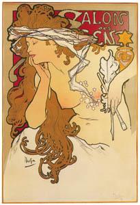 thumbnail Alphonse Mucha – SALON DES CENT [from Alphonse Mucha: The Ivan Lendl collection]