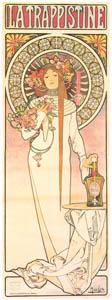 アルフォンス・ミュシャ – トラピスティーヌ酒 (アルフォンス・ミュシャ イワン・レンドル・コレクションより)のサムネイル画像