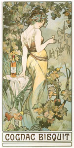 thumbnail Alphonse Mucha – COGNAC BISQUIT [from Alphonse Mucha: The Ivan Lendl collection]
