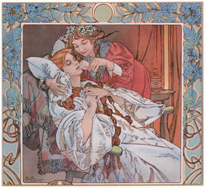 thumbnail Alphonse Mucha – TRINER'S ANGELICA BITTER TONIC [from Alphonse Mucha: The Ivan Lendl collection]