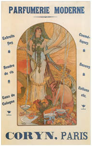 thumbnail Alphonse Mucha – CORYN PARFUMERIE MODERNE [from Alphonse Mucha: The Ivan Lendl collection]