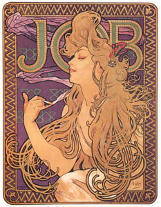 thumbnail Alphonse Mucha – JOB [from Alphonse Mucha: The Ivan Lendl collection]