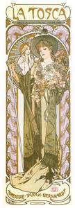 thumbnail Alphonse Mucha – LA TOSCA [from Alphonse Mucha: The Ivan Lendl collection]