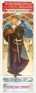 thumbnail Alphonse Mucha – HAMLET [from Alphonse Mucha: The Ivan Lendl collection]