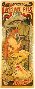 アルフォンス・ミュシャ – カッサン・フィス (アルフォンス・ミュシャ イワン・レンドル・コレクションより)のサムネイル画像