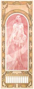 thumbnail Alphonse Mucha – L'ANNEE QUI VIENT [from Alphonse Mucha: The Ivan Lendl collection]