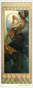 thumbnail Alphonse Mucha – LES ETOILES: ETOILE POLAIRE [from Alphonse Mucha: The Ivan Lendl collection]