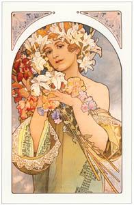 thumbnail Alphonse Mucha – LE FLEUR [from Alphonse Mucha: The Ivan Lendl collection]