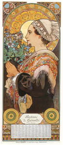 thumbnail Alphonse Mucha – CHARDON DE GREVES [from Alphonse Mucha: The Ivan Lendl collection]