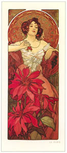 thumbnail Alphonse Mucha – LES PIERRES PRECIEUSES: LA RUBIS [from Alphonse Mucha: The Ivan Lendl collection]
