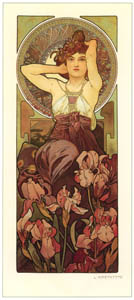 thumbnail Alphonse Mucha – LES PIERRES PRECIEUSES: L'AMETHYSTE [from Alphonse Mucha: The Ivan Lendl collection]
