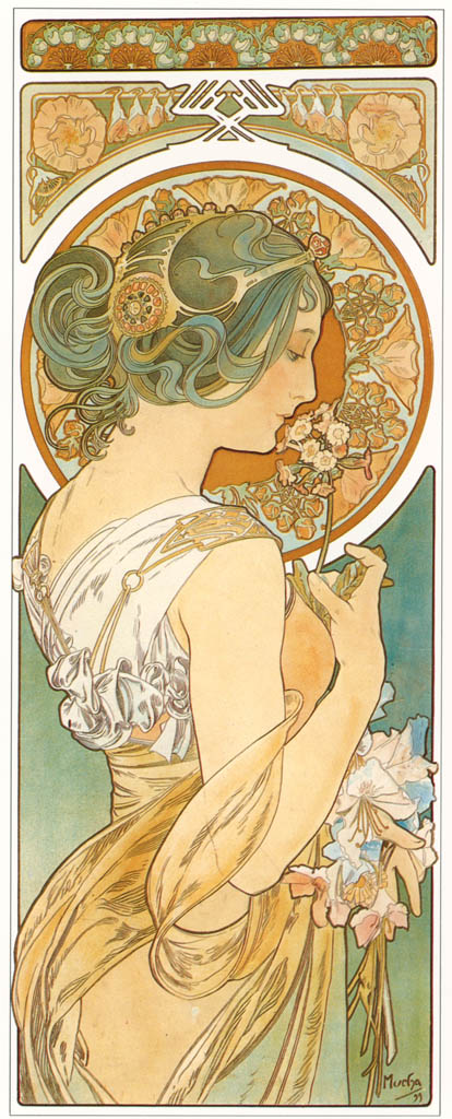 Alphonse Mucha – LA PRIMEVERE [from Alphonse Mucha: The Ivan Lendl collection]