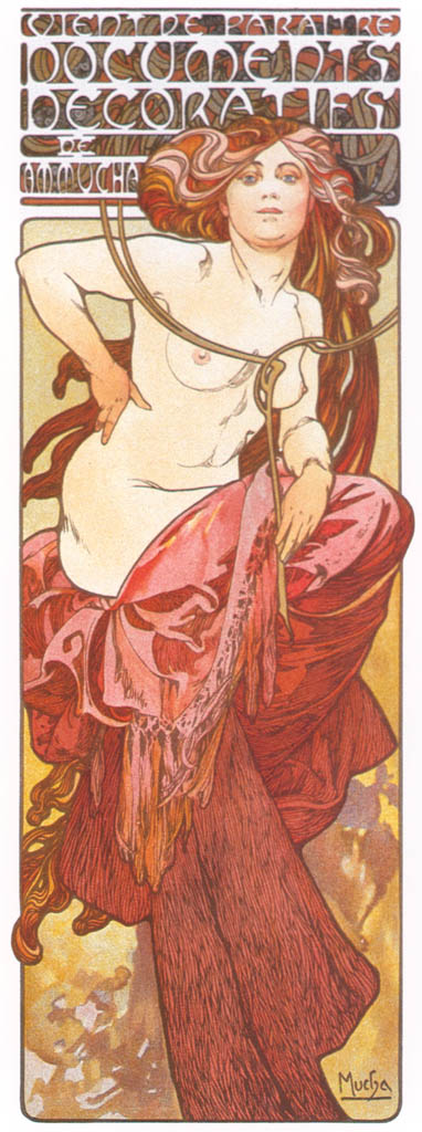 Alphonse Mucha – DOCUMENTS DECORATIFS 2 [from Alphonse Mucha: The Ivan Lendl collection]