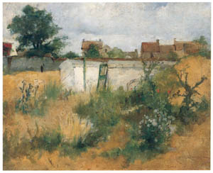 thumbnail Carl Larsson – Landscape Study from Barbizon [from The Painter of Swedish Life: Carl Larsson]