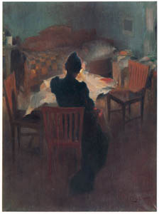 thumbnail Carl Larsson – Chiaroscuro Interior from Dalarna [from The Painter of Swedish Life: Carl Larsson]