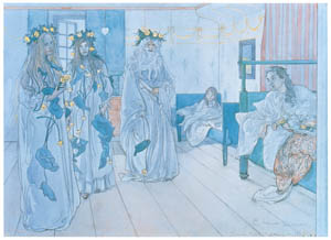 thumbnail Carl Larsson – Name Day Tribute [from The Painter of Swedish Life: Carl Larsson]