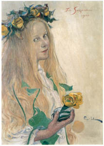 thumbnail Carl Larsson – Suzanne [from The Painter of Swedish Life: Carl Larsson]