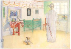 カール・ラーション – 我が家の守護神 (スウェーデンの国民画家 カール・ラーション展より)のサムネイル画像