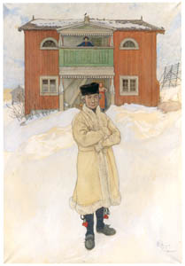 カール・ラーション – ダニエルス・マッツ (スウェーデンの国民画家 カール・ラーション展より)のサムネイル画像