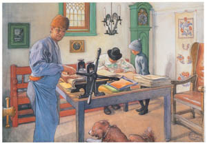 thumbnail Carl Larsson – My Etching Shop [from The Painter of Swedish Life: Carl Larsson]