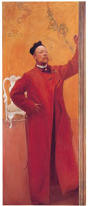 thumbnail Carl Larsson – In Front of the Mirror, Self-Portrait [from The Painter of Swedish Life: Carl Larsson]