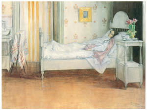 thumbnail Carl Larsson – Convalescence [from The Painter of Swedish Life: Carl Larsson]