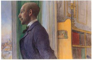 カール・ラーション – 美術史家カール・G・ラウリーン (スウェーデンの国民画家 カール・ラーション展より)のサムネイル画像