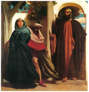 フレデリック・レイトン – イゼベルとアハブ (Frederick Lord Leightonより)のサムネイル画像