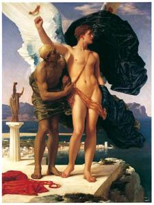 フレデリック・レイトン – ダイダロスとイカロス (Frederick Lord Leightonより)のサムネイル画像