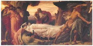 thumbnail Frederic Leighton – Hercules Wrestling with Death for the Body of Alcestis [from Frederick Lord Leighton]