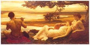 フレデリック・レイトン – 牧歌 (Frederick Lord Leightonより)のサムネイル画像