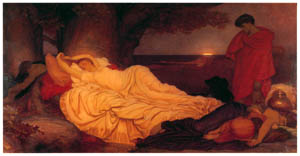 フレデリック・レイトン – シモンとイフィゲネイア (Frederick Lord Leightonより)のサムネイル画像